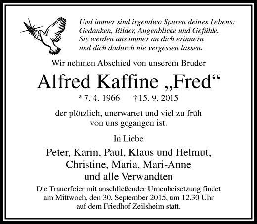 Fred Von Zuhause Im Glück Tot