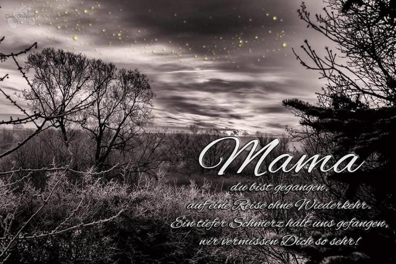 Vermisse sehr ich dich mama so Mama ich